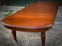 Victorian 3 Leaf Extending Dining Table Seats 10 (10 of 13)
