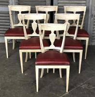 Set of 8 French Directoire Dining Chairs (10 of 16)