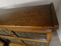 Pair of Oak 1920s Bookcases (7 of 12)