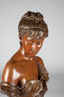 Superb Quality 19th Century French Bronze & Marble Sculpture by Eutrope Bouret (13 of 15)