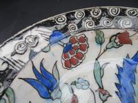 Iznik Pottery Dish c.1600 (9 of 9)