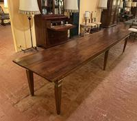 Large Monastery Table From 4m Long-19th Century-netherlands (9 of 9)