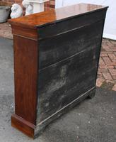 1850's Burr Walnut Pier 2 Door Cabinet with Key (5 of 6)