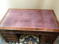 Mahogany Pedestal Desk (5 of 7)