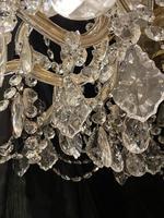 10 Light Italian Marie Theresa Antique Chandelier (12 of 14)