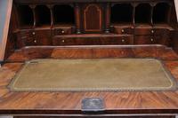 18th Century walnut & feather banded bureau (16 of 17)