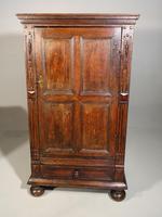 A Mid 19th Century Single Door Court Style Cupboard