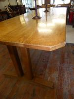 Early 20th Century Oak Table (4 of 6)