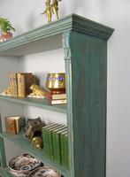 Antique Victorian Painted Bookcase (4 of 8)
