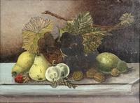Edwardian Oil of Still Life (2 of 3)