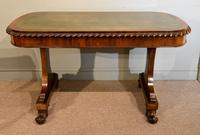 William IV Rosewood Writing Table (2 of 7)