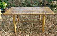Antique Farmhouse Rustic / Industrial Table (4 of 9)