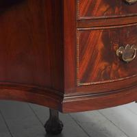 Georgian Style Kidney Shaped Desk by Justice & Sons (9 of 11)
