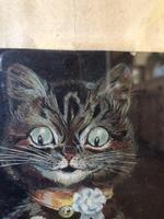 "Victorian Louis Wain Print ""The Wedding Breakfast"" Advertising Mellin's Food Biscuits (5 of 14)"