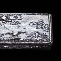 Georgian Solid Silver Snuff Box with Pheasant Scene - Thomas Shaw 1834 (7 of 28)