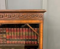 Burr Walnut Bookcase by Jas Shoolbred (11 of 19)