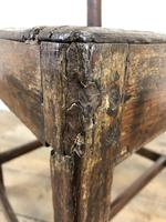 Set of Four 19th Century Oak Farmhouse Chairs (M-189) (8 of 17)