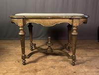 Napoleon III Giltwood Library or Sofa Table (2 of 13)