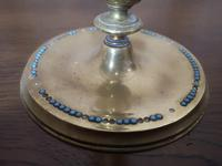 Pair of Brass Arts and Crafts Candlesticks (2 of 12)
