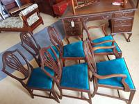 Edwardian Set of 6 Dining Chairs (2 of 4)