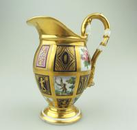 Extraordinary & Very Fine Old Paris Porcelain Gilt Jug Early 19th Century (3 of 12)