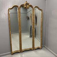 Floor Standing 3 Fold Dressing Mirror (2 of 7)