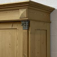 Antique Continental pine double wardrobe 'dismantles' (2 of 6)
