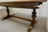Victorian Oak Refectory Table (5 of 7)