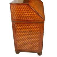 18th Century Italian Parquetry Bureau (7 of 8)