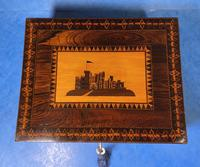 William IV Early Mosaic Tunbridge Ware Table Box (17 of 20)