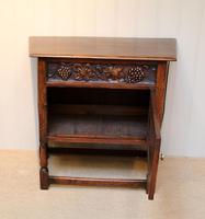 French Dark Oak Side Cabinet (9 of 10)