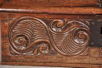 17th Century Carved Oak Box (4 of 7)