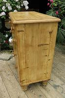Gorgeous Old Pine Chest of Drawers (4 of 8)
