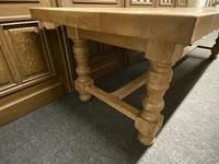 Rare Huge Oak French Farmhouse Dining Table (14 of 18)
