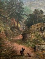 William R Stone Lovely Dolgilly North Wales Landscape Painting (7 of 13)