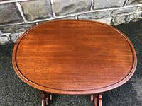 Antique Mahogany Nest of 3 Tables (2 of 7)