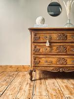 French Antique Style Drawers / Chest of Drawers / Louis XV Style (2 of 6)