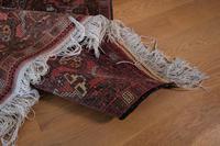 Large Mid 20th Century Afghan Ensi Rug (10 of 13)