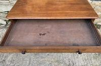 Antique Regency Mahogany Library Table (7 of 14)