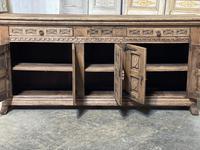 Rustic Oak Spanish Sideboard (7 of 13)