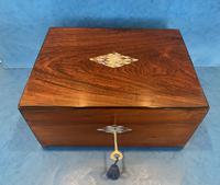 Victorian Rosewood Jewellery Box (12 of 15)