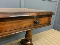 Early Victorian Rosewood Library Table (9 of 15)