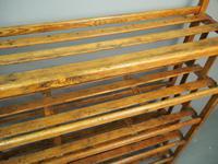 Victorian Industrial Pine Deed Rack / Wool Rack (5 of 10)