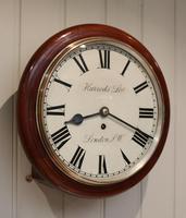 Mahogany Dial Clock by Harrods (4 of 12)