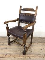 Pair of Mid 20th Century Oak Armchairs (6 of 7)