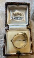 18ct. Yellow Gold Single Diamond Ring 1903 (5 of 6)