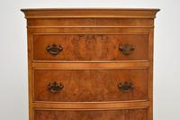 Antique Georgian Style Burr Walnut Chest on Chest (6 of 9)