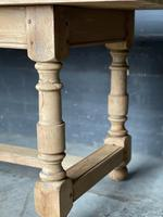 French Bleached Oak Farmhouse Kitchen Table (18 of 25)