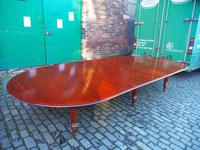 Large George IV Mahogany Dining Table by M. Willson, London (4 of 20)