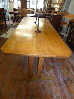 Early 20th Century Oak Table (6 of 6)